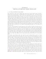 Các quá trình vật lý và hóa học của hồ - Chương 4 potx