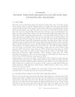 Các quá trình vật lý và hóa học của hồ - Chương 9 pdf