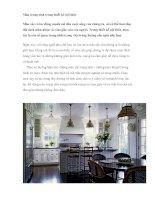 Màu trung tính trong thiết kế nội thất pptx