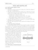 Giáo trình điện từ học ( TS. Lưu Thế Vinh ) - Chương 4 ppt