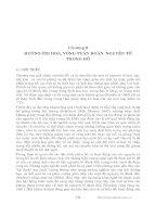 Các quá trình vật lý và hóa học của hồ - Chương 8 doc