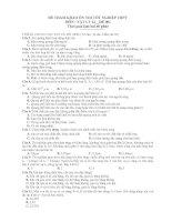ĐỀ THAM KHẢO ÔN THI TỐT NGHIỆP THPT MÔN : VẬT LÝ 12 _ ĐỀ 001 pptx