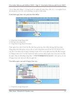 GIÁO TRÌNH Tìm hiểu Microsoft Excel 2007 phiên bản tiếng việt(Lê Văn Hiếu) - 3 pot