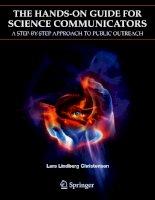 The Hands-on Guide for Science Communicators - L. Christensen (Springer 2007) Episode 1 pot
