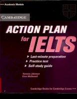 cambridge action plan for ielts phần 1 pptx
