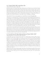 CHIẾN LƯỢC HƯỚNG TỚI PHÁT TRIỂN BỀN VỮNG CỦA CÁC NƯỚC ĐANG PHÁT TRIỂN - 4 ppt