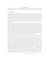 Các quá trình vật lý và hóa học của hồ - Chương 10 ppsx