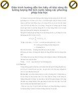 Giáo trình hướng dẫn tìm hiểu về khả năng đo lường lượng thể tích nước bằng các phương pháp hóa học phần 1 pdf