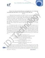 Phân tích hai bài thơ Đất nước của Nguyễn Đình Thi và Đất Nước của Nguyễn Khoa Điềm để làm nổi rõ những cảm hứng về đất nước potx