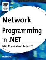 Network Programming in .NET With C# and Visual Basic .NET phần 1 potx