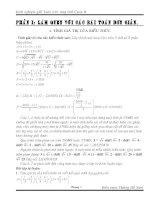 sáng kiến kinh nghiệm: kinh nghiệm giải toán trên máy tính casio II
