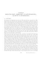 Các quá trình vật lý và hóa học của hồ - Chương 3 potx