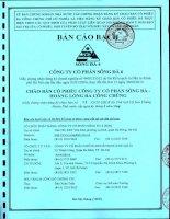 bản cáo bạch công ty cổ phần sông đà  6 chào bán cổ phiếu công ty cổ phần sông đà  hoàng long ra công chúng 2013