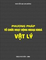 Phương pháp tổ chức vật lý học ngoại khóa (Nguyễn Quang Đông - ĐH Thái Nguyên) - 1 ppt