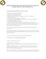Giáo trình tổng hợp những quy trình vận hành hệ thống máy tính với hướng tối ưu phần 1 pdf