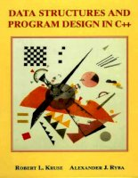 Data Structures and Program Design in C++ phần 1 pdf