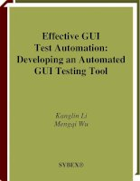 Effective GUI Test Automation Developing an Automated GUI Testing Tool phần 1 ppsx