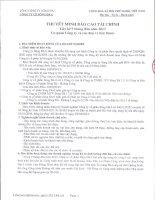 công ty cổ phần sông đà 6 thuyết minh báo cáo tài chính lũy kế 9 tháng đầu năm 2013 cơ quan công ty và các đơn vị trực thuộc
