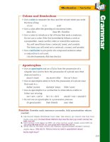 treasures grammar and writing handbook grade 6 phần 7 doc