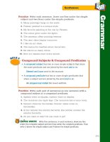 treasures grammar and writing handbook grade 5 phần 6 pptx