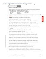 Grammar, Usage, and Mechanics Language Skills Practice phần 7 pdf