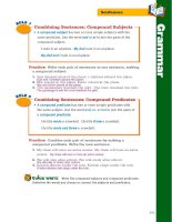 treasures grammar and writing handbook grade 6 phần 6 pps