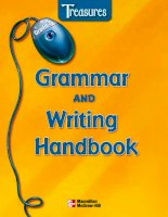 treasures grammar and writing handbook grade 2 phần 1 potx