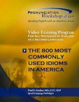 English Idioms and manual