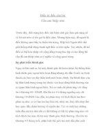 Điều trị điếc cho trẻ: Cần can thiệp sớm pdf