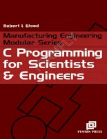 C Programming for Scientists & Engineers phần 1 pptx