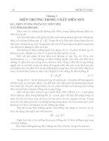 Giáo trình điện từ học ( TS. Lưu Thế Vinh ) - Chương 3 potx