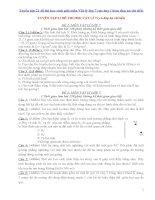 Tuyển tập 21 đề thi học sinh giỏi môn vật lý lớp 7 cực hay ( kèm đáp án chi tiết)