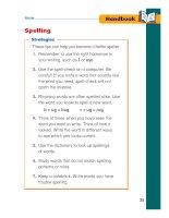 treasures grammar and writing handbook grade 1 phần 4 pdf