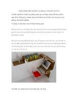 Ngắm những mẫu nội thất văn phòng và bàn độc đáo (P1) pptx