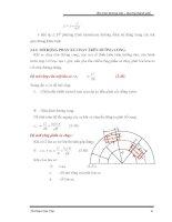 Giáo trình tổng hợp phân tích kỹ thuật thiết kế áo cầu đường dựa vào các tính toán biến dạng phần 2 ppt