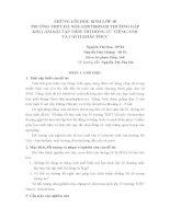 ĐỀ TÀI : NHỮNG LỖI HỌC SINH LỚP 10 TRƯỜNG THPT HÀ NỘI-AMSTERDAM THƯỜNG GẶP KHI LÀM BÀI TẬP THỜI THÌ ĐỘNG TỪ TIẾNG ANH VÀ CÁCH KHẮC PHỤC ppsx
