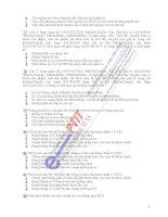 Ngân hàng đề thi Hệ thống thông tin quản lý ngành điện tử viễn thông - 2 docx