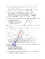 Ngân hàng đề thi Hệ thống thông tin quản lý ngành điện tử viễn thông - 3 doc