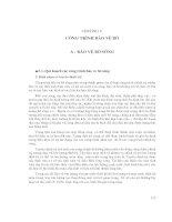 Thiết kế đê và công trình bảo vệ bờ - Chương 5 pdf
