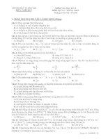KIỂM TRA HỌC KỲ II MÔN VẬT LÝ - LỚP 12 THPT ppsx