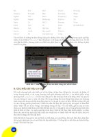 Giáo trình hướng dẫn phân tích kết cấu theo thiết kế hình học cho công trình giao thông đường thủy p4 potx
