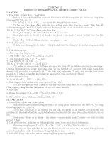 Bài tập hóa lớp 10 phần đồng phân năm 2015