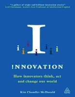 Innovation: How Innovators Think and Change the world by Kim Chandler