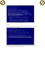 Giáo trình hình thành ứng dụng Aethia Dbackup về cấu hình và vị trí server p2 ppt