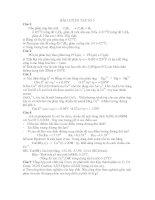 BÀI LUYỆN TẬP SỐ 3 4270C nồng docx