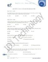 Bài tập Co2 So2 với dung dịch kiềm pptx