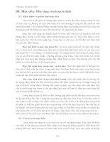 QUẢN TRỊ HỌC VÀ CÁC CHỨC NĂNG QUAN TRỌNG - 6 ppt