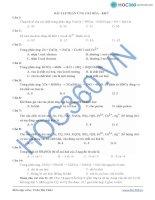 Bài tập oxi hóa khử ppsx