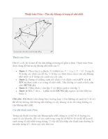 Thuật toán Prim – Tìm cây khung có trọng số nhỏ nhất ppsx