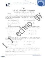 Đề 5: viết biểu thức u i trong mạch điện có 2 phần tử ppsx